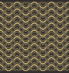 Abstract art deco seamless pattern 02 vector