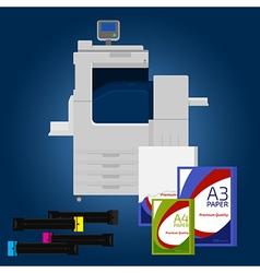 Copier vector image