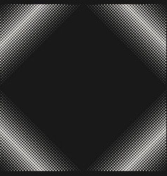 halftone pattern texture with dots in square form vector image vector image