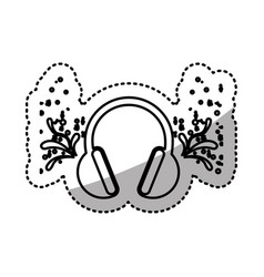 headphone icon stock image vector image vector image