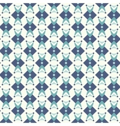 Seamless pattern in teal colors vector image vector image