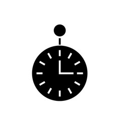 timer - secondmeter icon vector image