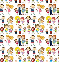 Seamless family vector