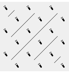 Geometric simple monochrome pattern vector