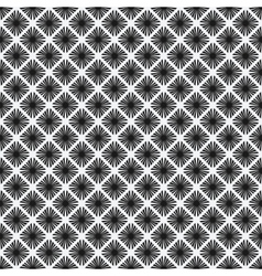 Rhombus seamless pattern black-and-white vector