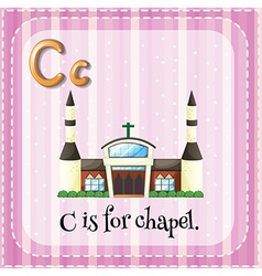 Letter c vector