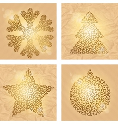 Christmas winter backgrounds vector image