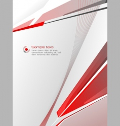 Red abstraction vector