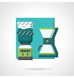 Coffee break flat icon vector image