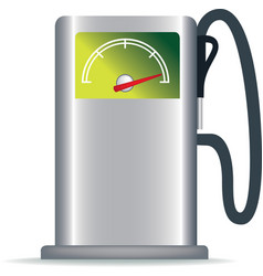 Green petrol pump vector