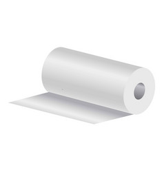 Roll of paper towels vector