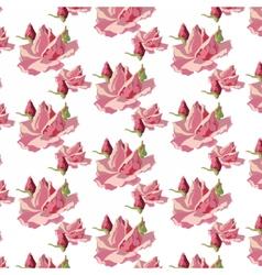 Watercolor rose flowers vector