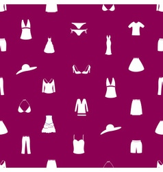 womens clothing icon pattern eps10 vector image vector image