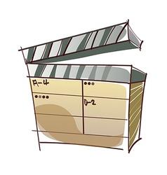 A cue vector image
