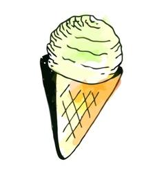 Icecream vector image