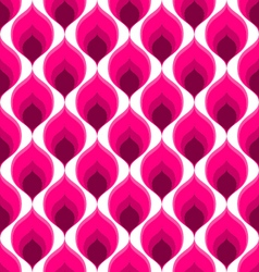 Pink abstract seamless ornament pattern vector