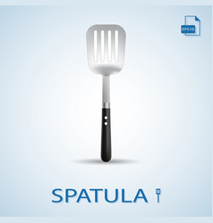 Kitchen tools spatula isolated on a background vector