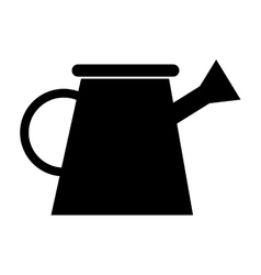 Watering can isolated icon vector