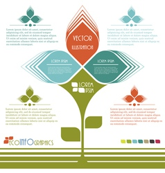Modern design Ecology business template vector image