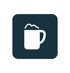 Cappuccino icon rounded squares button vector