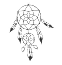 The dreamcatcher vector