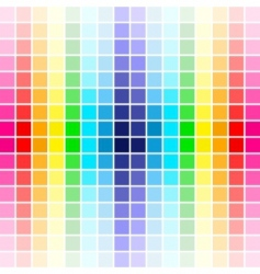 palette rainbow colors vector image vector image