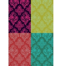 Russian seamlesss pattern vector