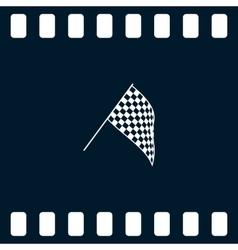 Starting symbol icon vector