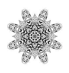 Mandala ethnic abstract decorative elements vector
