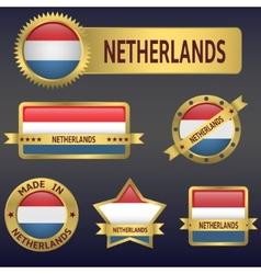 Netherlands vector