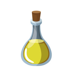 Olive bottle icon vector