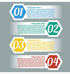 Stitching infographic element design with co vector