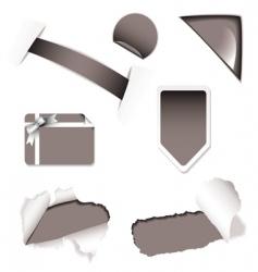 shop sale elements black vector image