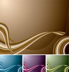 Quad swirl background vector
