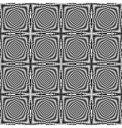Design seamless monochrome checkered background vector