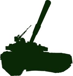 Heavy Battle Tank vector image vector image