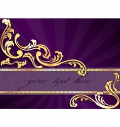 horizontal banner vector image vector image