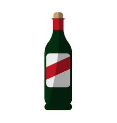 Wine icon image vector