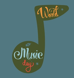 World music day vector