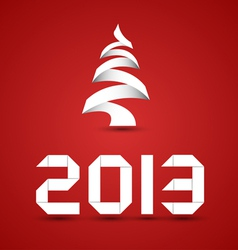 New 2013 year numbers vector