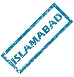 Islambad rubber stamp vector
