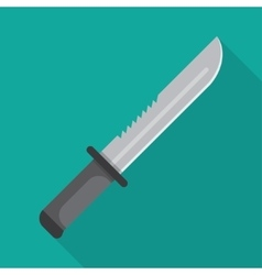 Army military knife vector