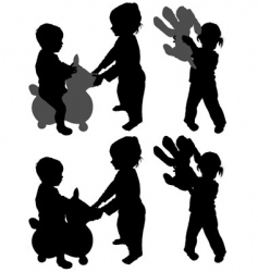 children's games vector image