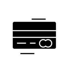 Credit card - mastercard icon vector