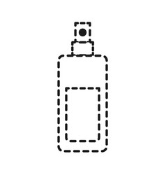 fragance bottle icon vector image