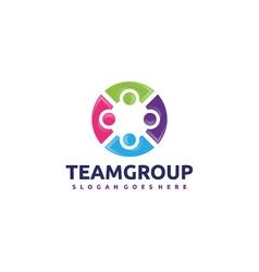 Team Group Logo vector image