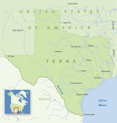 Usa texas vector