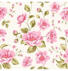 Luxurious peony pattern vector