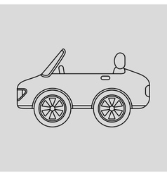 Vehicle icon design vector