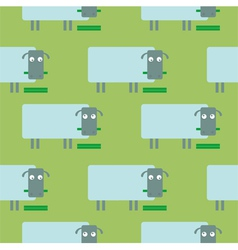 Funny sheep vector image vector image
